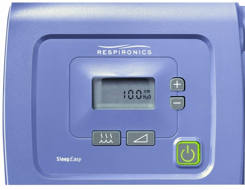 setting a cpap machine