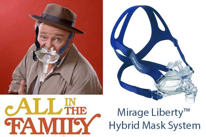 archie-bunker-all-in-the-family-Mirage-Liberty-Mask-System-CPAP