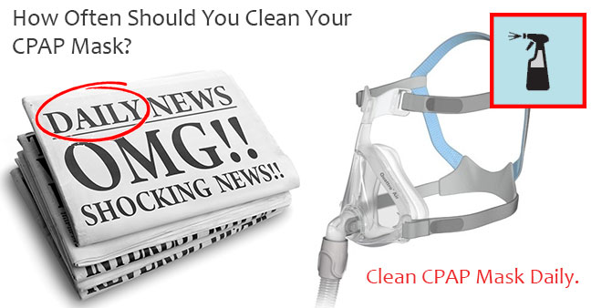 how to clean my cpap machine