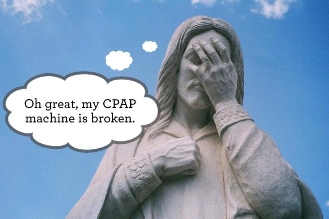 Broken-CPAP-Machine
