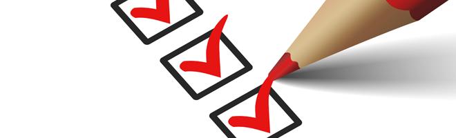 Checklist-Blog
