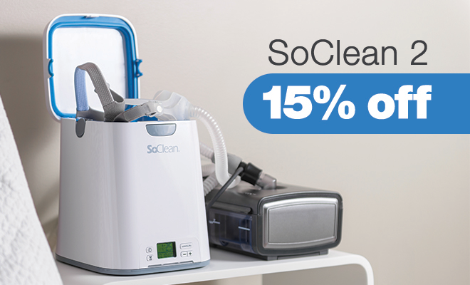 15 Off Soclean 2 The 1 Cpap Sanitizer Easy Breathe