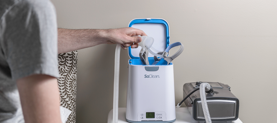 cpap machine cleaning system