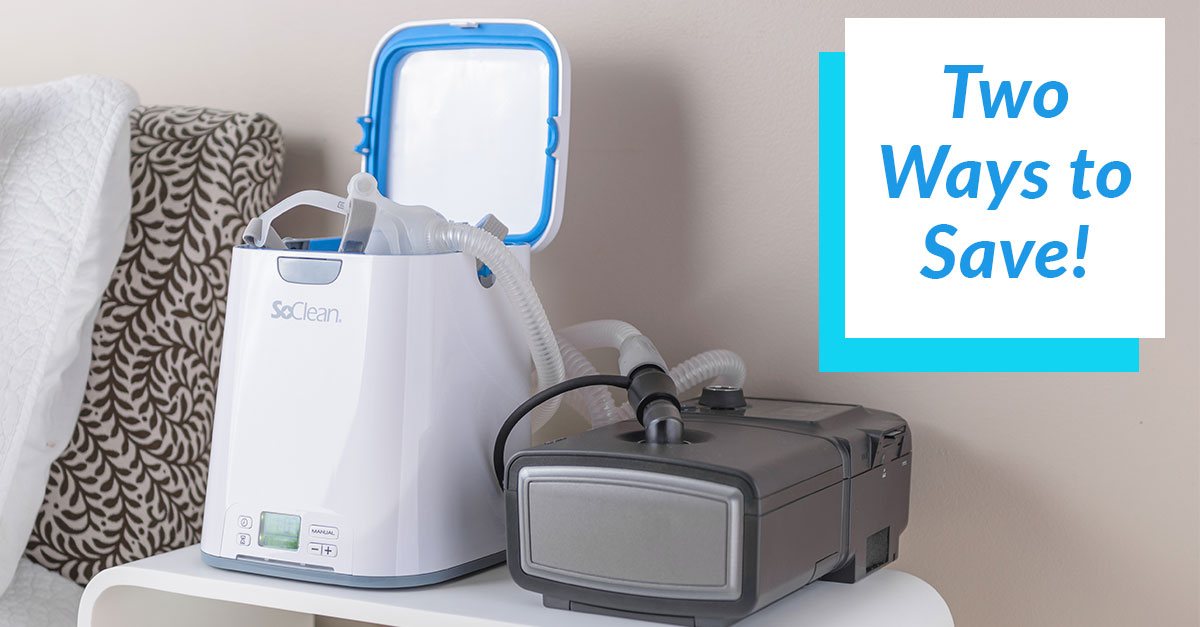 Two Huge Discounts For The Soclean 2 Cpap Cleaner And